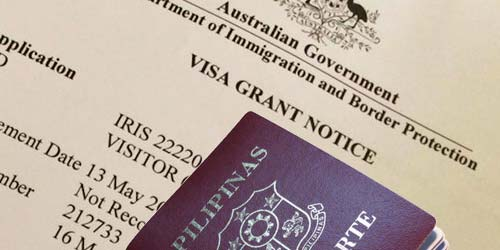 Tourist Visa to Australia