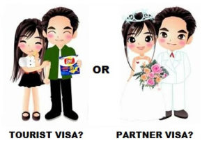 Tourist or Partner Visa